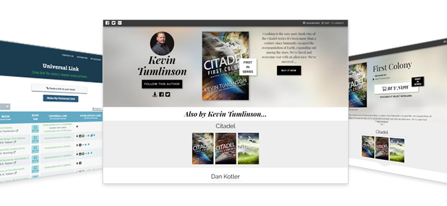 Introducing Author Pages and Book Tabs!