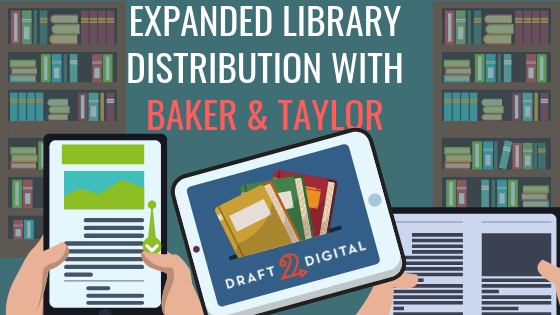 Now D2D is in even more libraries, with Baker & Taylor distribution!