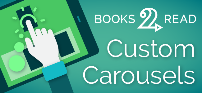 Announcing Custom Carousels – A new away to customize your D2D Author Pages!