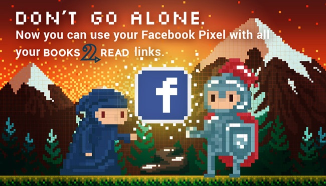 Use your Facebook Pixel on Books2Read!