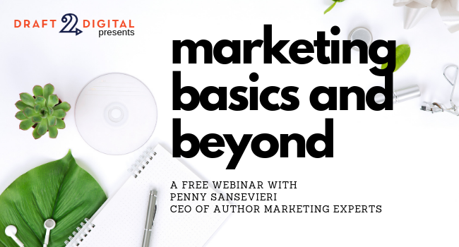 UPCOMING WEBINAR – Book Marketing Basics and Beyond with Penny Sansevieri