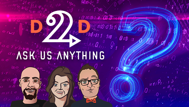 Webinar Recast – D2D Ask Us Anything, Author Support Edition!
