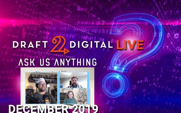 D2D Live –  December 2019!