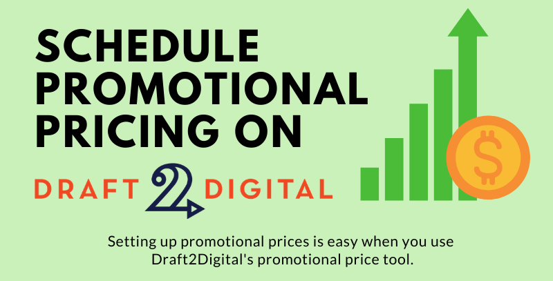 How to schedule promotional pricing on Draft2Digital