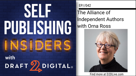 The Alliance of Independent Authors with Orna Ross // EP042